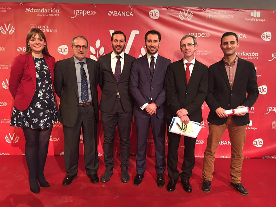 Empresarios ourensanos en Lugo