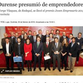 """Oeste Marketing Finalista en el """"V Premio Joven Empresario"""""""