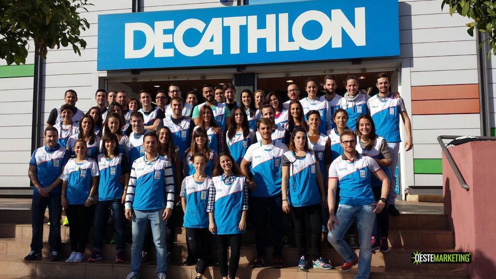 Equipo de decathlonianos