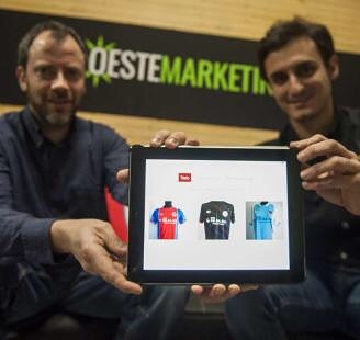 La historia del merchandising de clubes deportivos y Oeste Marketing