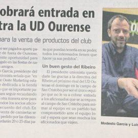 Presentación Tienda Online UD Ourense